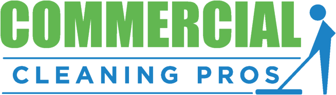 Commercial cleaning pros logo
