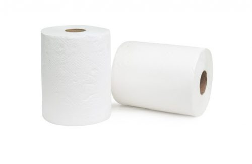a picture of two toilet papers